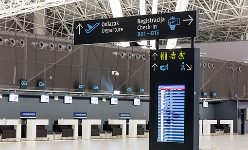 Zagreb Airports Departures