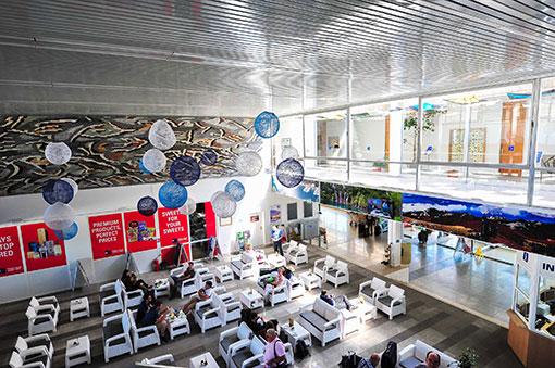 Rijeak Airport - Departures