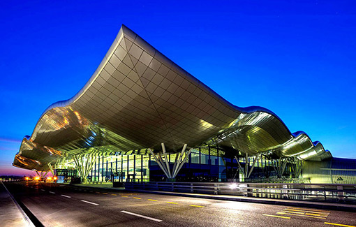 New Terminal Airport Split
